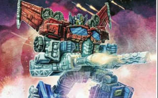 General Optimus Prime Galactic Commander