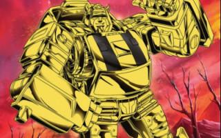 Gold Bumblebee Electrum Warrior