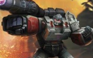 Megatron Decepticon Leader