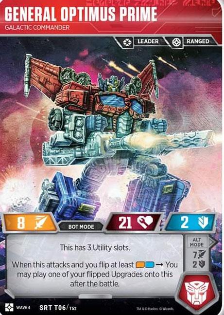General Optimus Prime - Galactic Commander